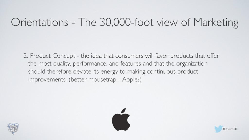 #ipfwm201  2. Product Concept - the idea tha...