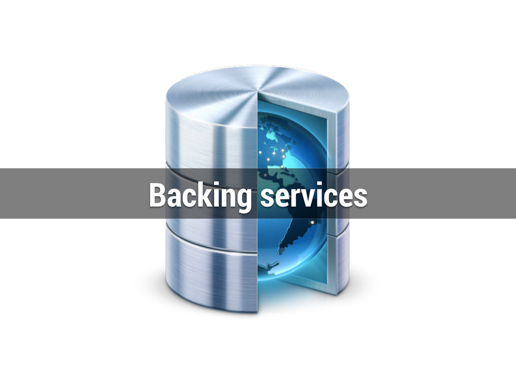 Backing services