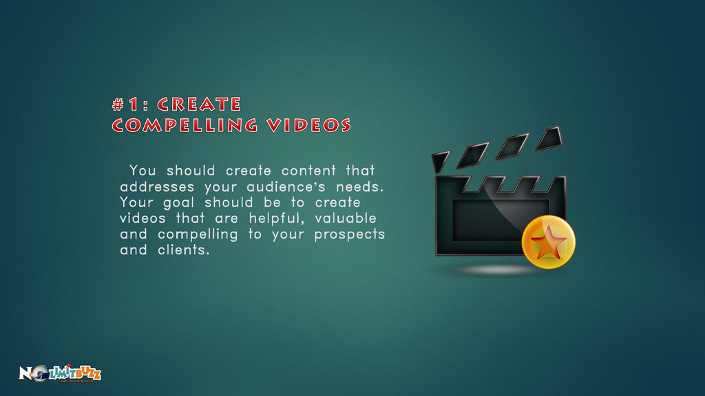You should create content that addresses your a...