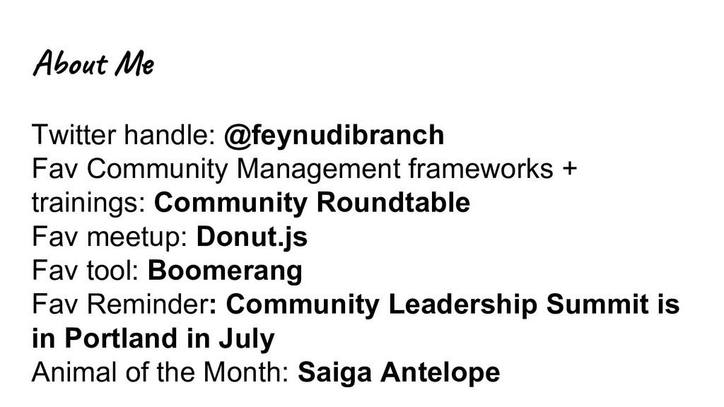 Abo M Twitter handle: @feynudibranch Fav Commun...
