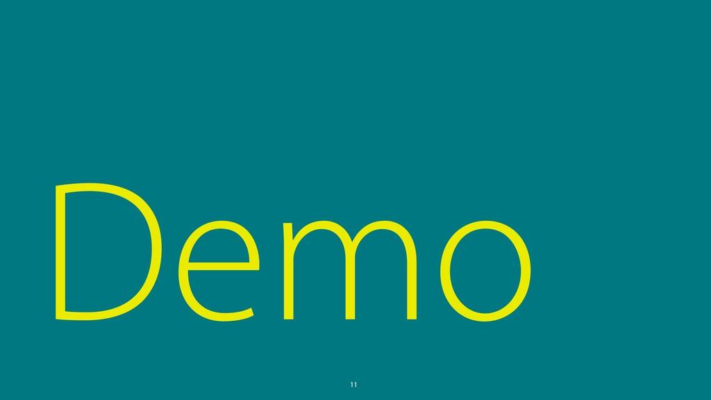 Demo 11