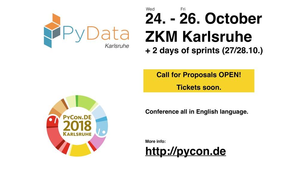 28 Karlsruhe 24. - 26. October ZKM Karlsruhe + ...