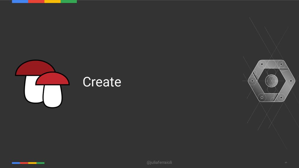@juliaferraioli ‹#› Create