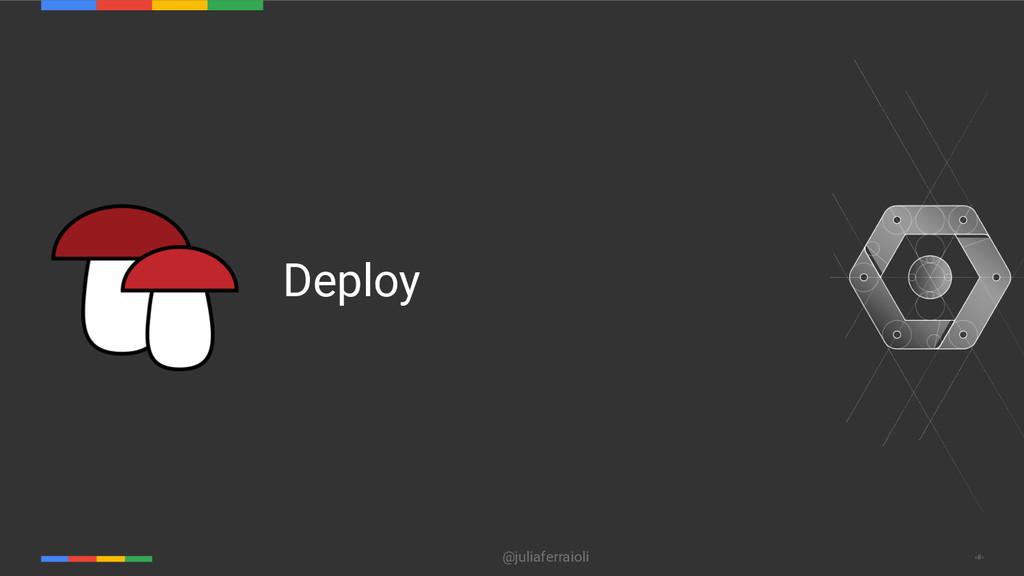 @juliaferraioli ‹#› Deploy