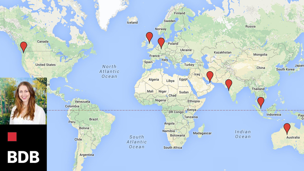 • My picture • Logo • World map locations of cl...