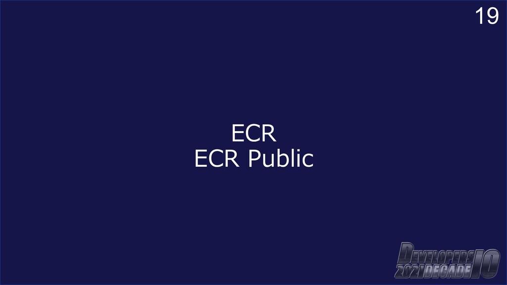 19 ECR ECR Public