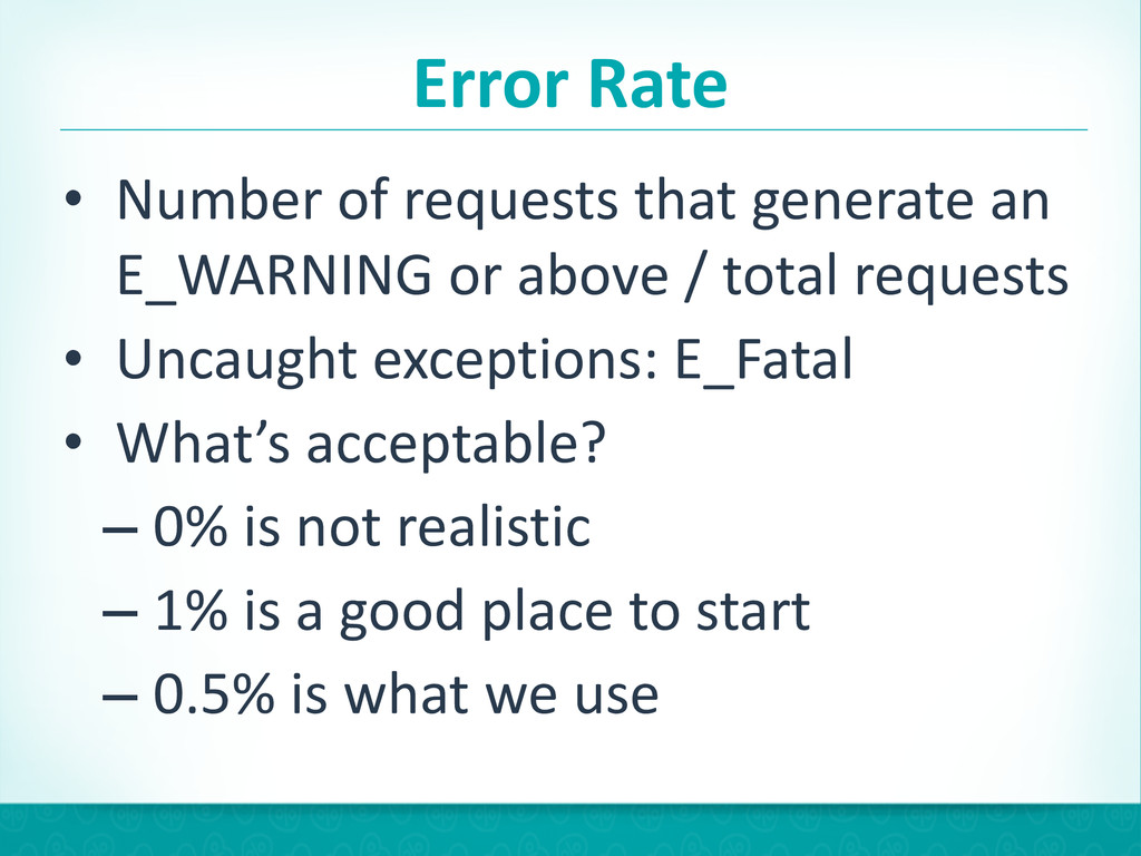 Error Rate • Number of requests tha...