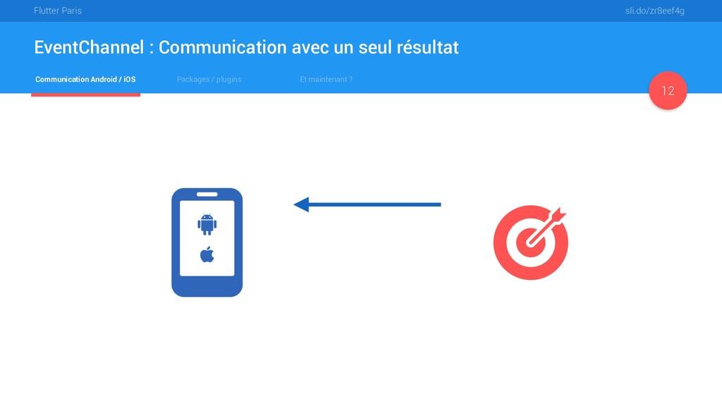 Flutter Paris sli.do/zr8eef4g Communication And...
