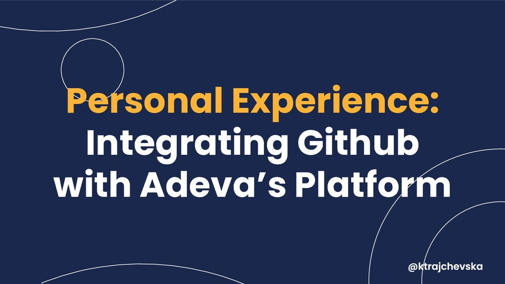 Personal Experience: Integrating Github with Ad...