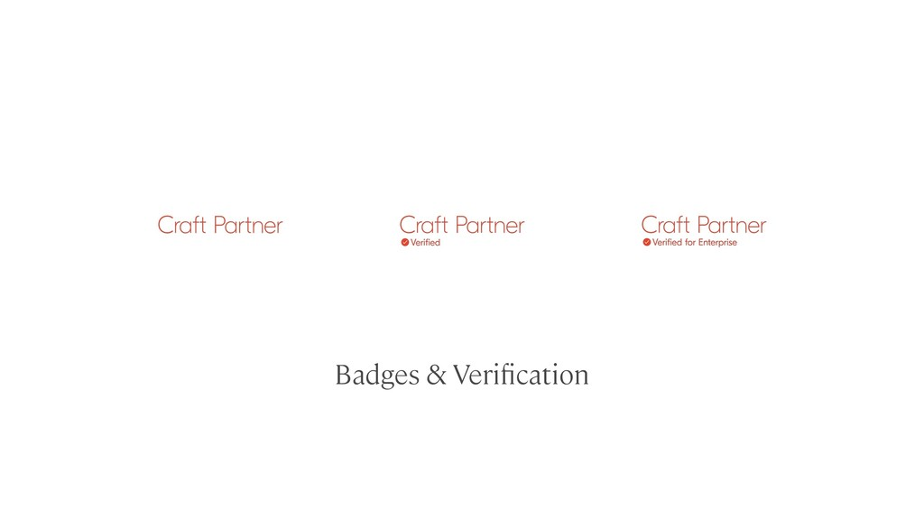 Badges & Verification