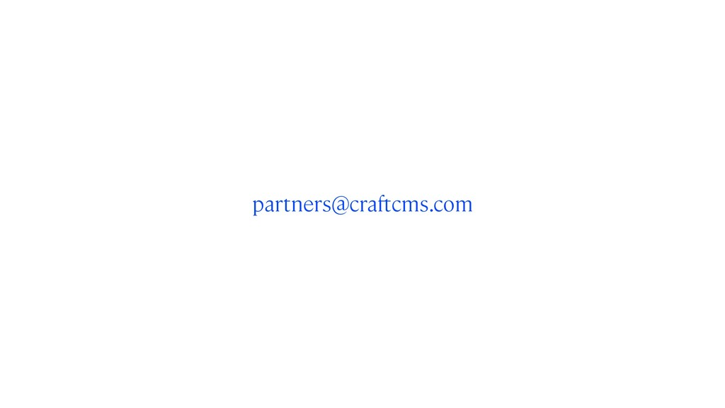 partners@craftcms.com