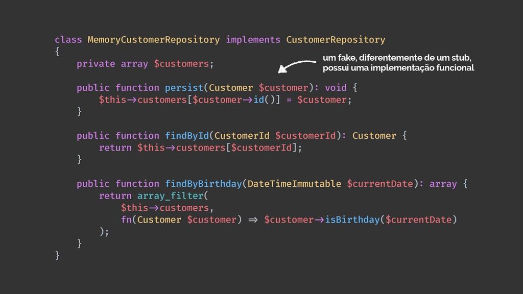 class MemoryCustomerRepository implements Custo...