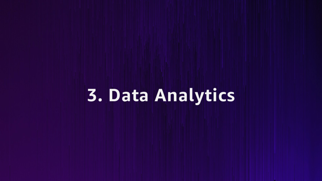 3. Data Analytics