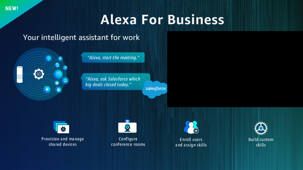 "Alexa For Business NEW! ""Alexa, start the meeti..."