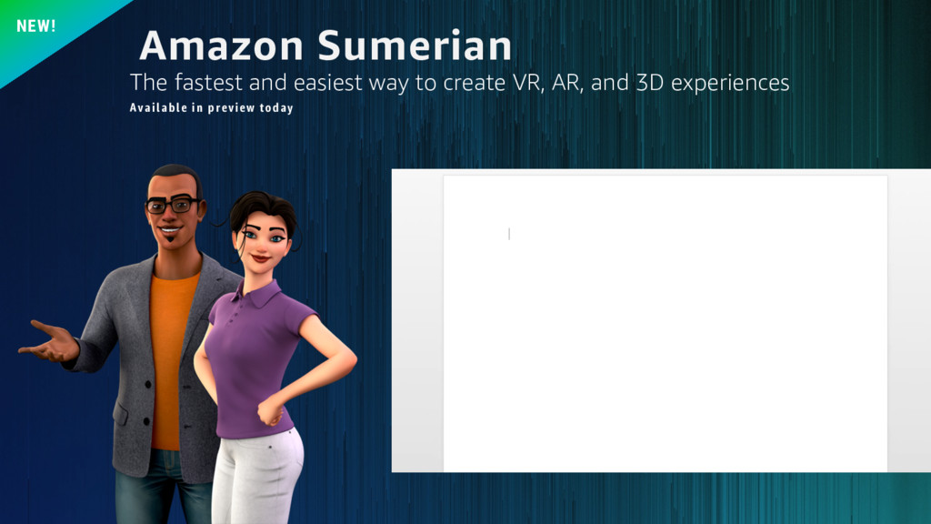Amazon Sumerian NEW! The fastest and easiest wa...