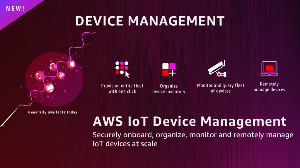 DEVICE MANAGEMENT N E W ! Generally available t...