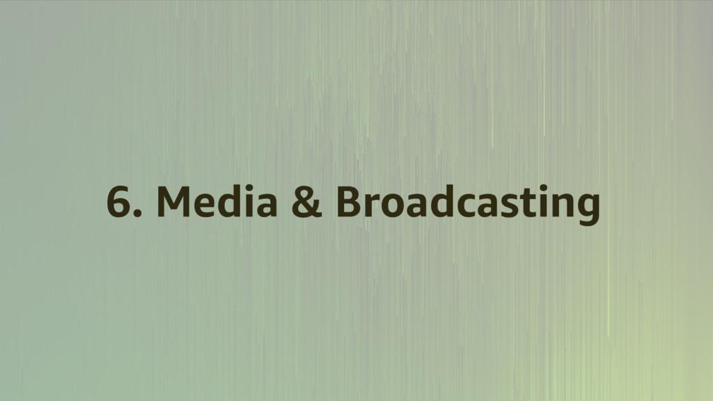 6. Media & Broadcasting