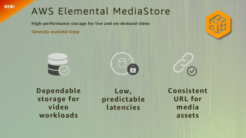 Dependable storage for video workloads Low, pre...
