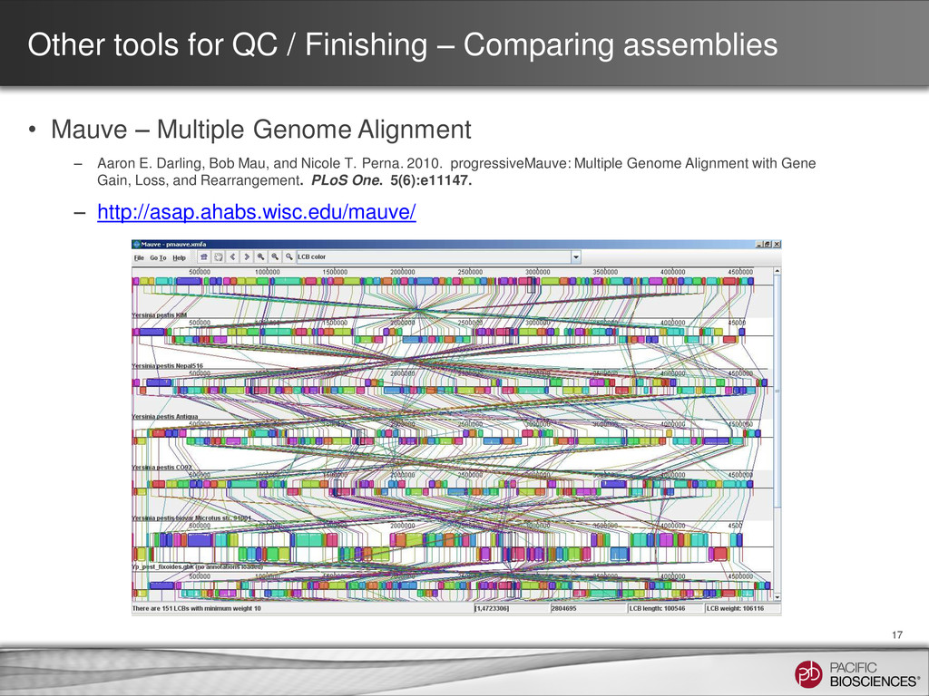 Other tools for QC / Finishing – Comparing asse...