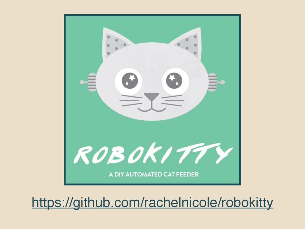 https://github.com/rachelnicole/robokitty