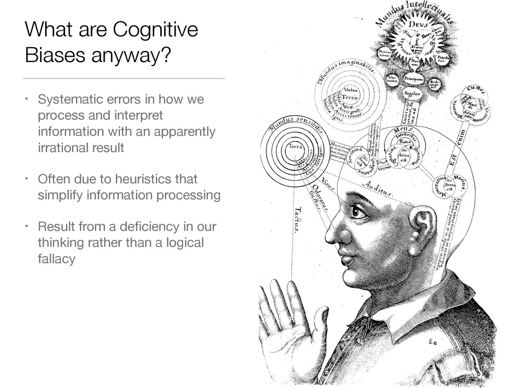 What are Cognitive Biases anyway? • Systematic ...