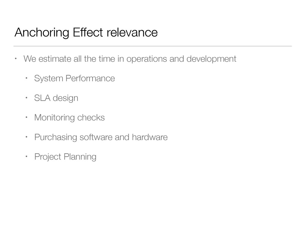 Anchoring Effect relevance • We estimate all th...