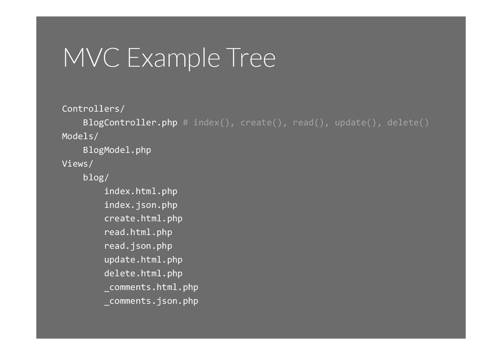MVC Example Tree Controllers/	