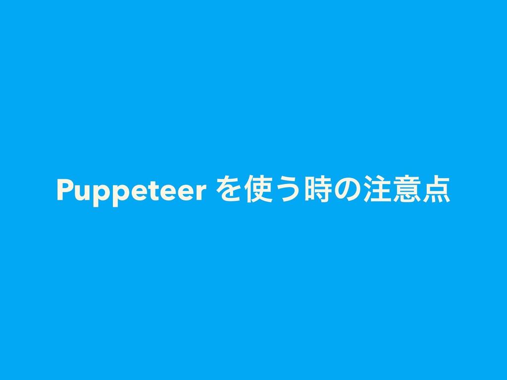 Puppeteer Λ͏ͷҙ