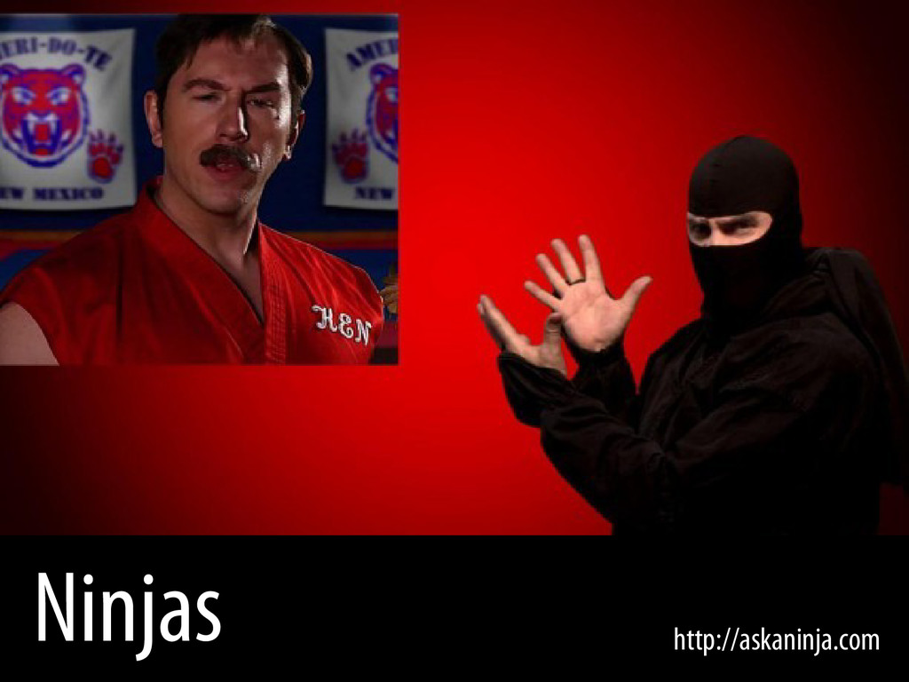 Bernhard Schussek @webmozart 8/96 Ninjas http:/...