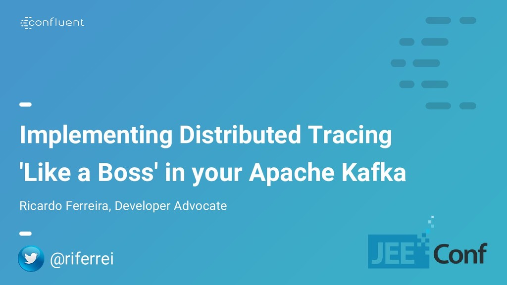 Implementing Distributed Tracing 'Like a Boss' ...