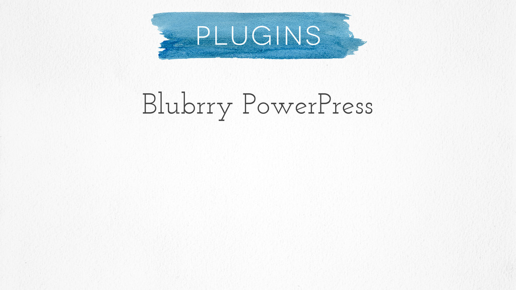 Plugins Blubrry PowerPress