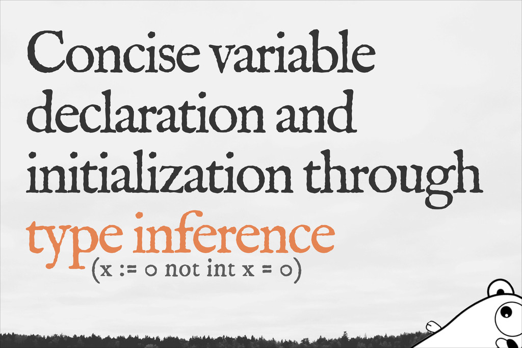 Concise variable declaration and initialization...