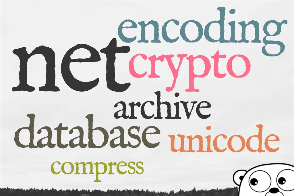 net archive database crypto encoding unicode co...