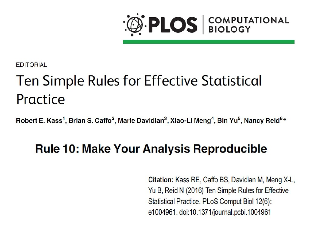 Statistics is too important to be left to stati...