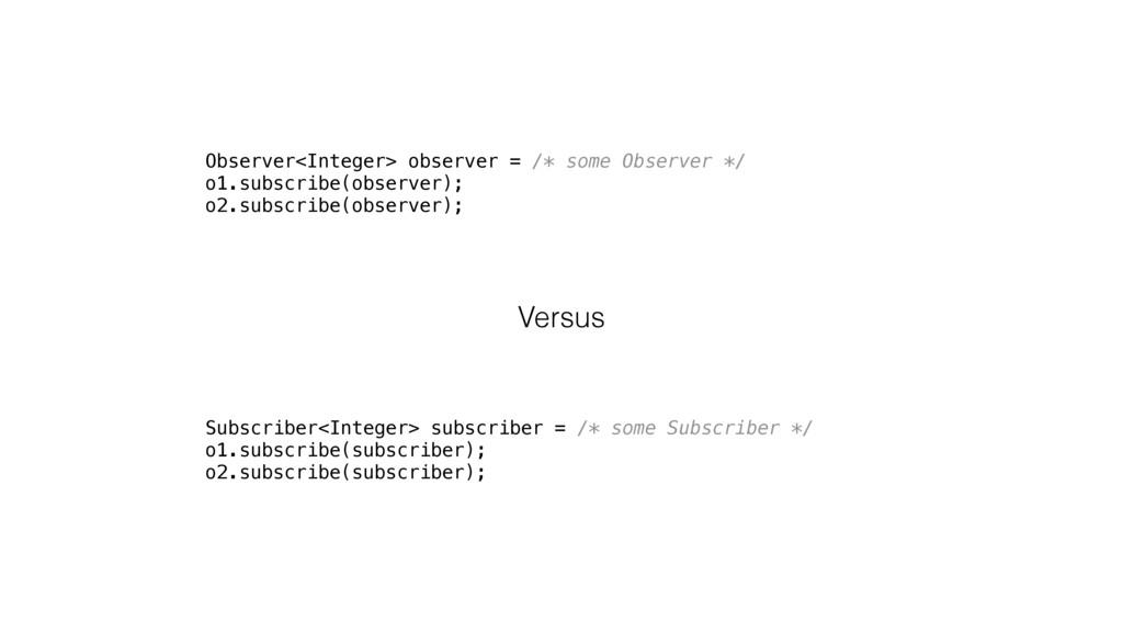 Observer<Integer> observer = /* some Observer *...