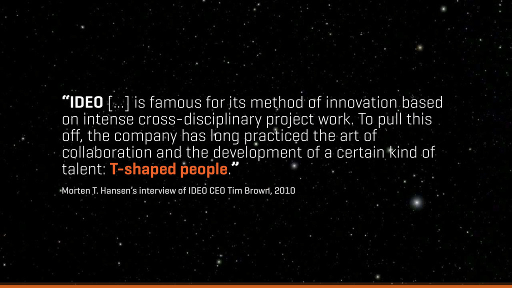 """""""IDEO [...] is famous for its method of innovat..."""