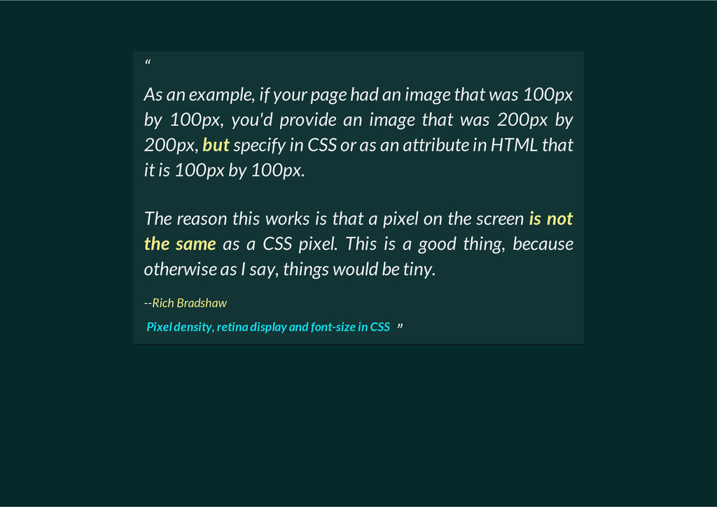 """ As an example, if your page had an image that..."