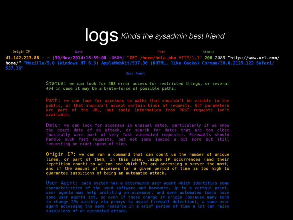 logsKinda the sysadmin best friend 41.142.223.8...