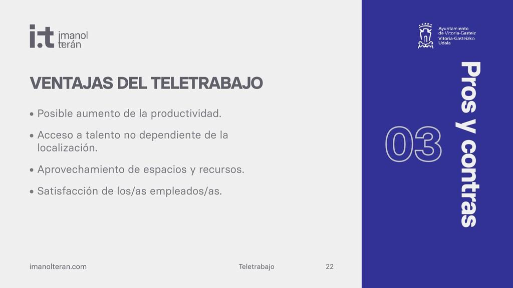 Teletrabajo imanolteran.com • Posible aumento d...
