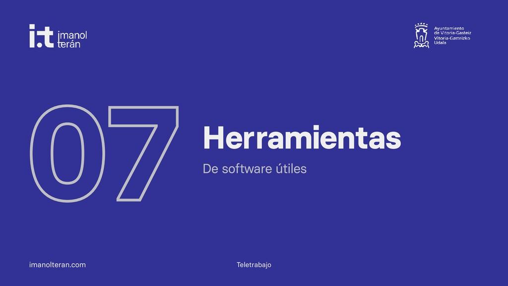 imanolteran.com 07 Herramientas De software úti...