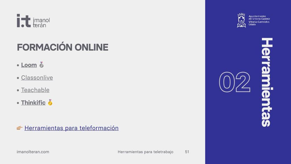 Herramientas para teletrabajo imanolteran.com •...
