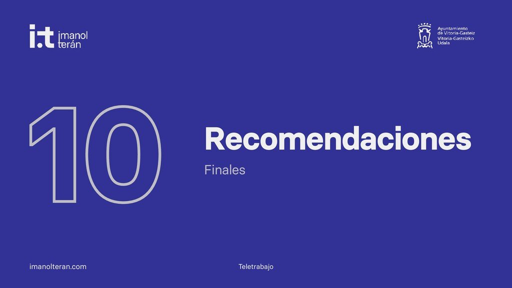 imanolteran.com 10 Recomendaciones Finales Tele...