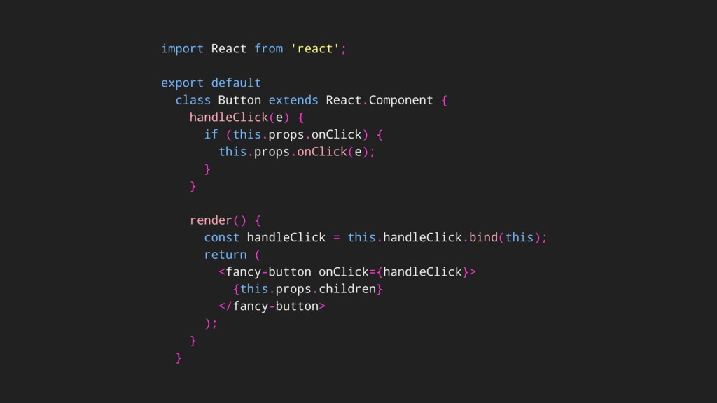 import React from 'react'; export default class...