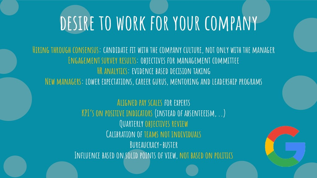 desire to work for your company Hiring through ...