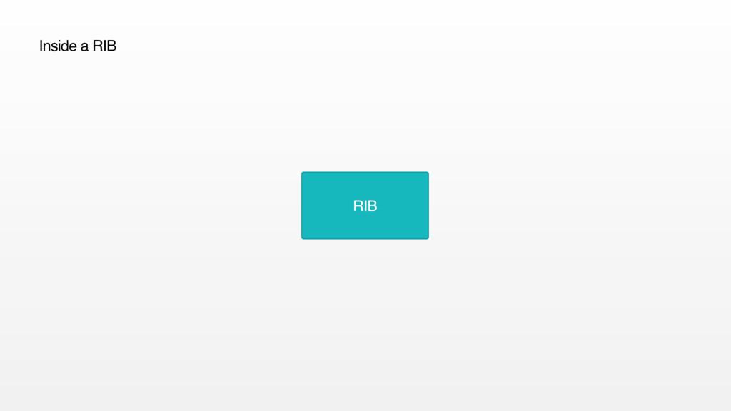 RIB Inside a RIB