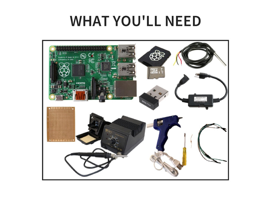 WHAT YOU'LL NEED