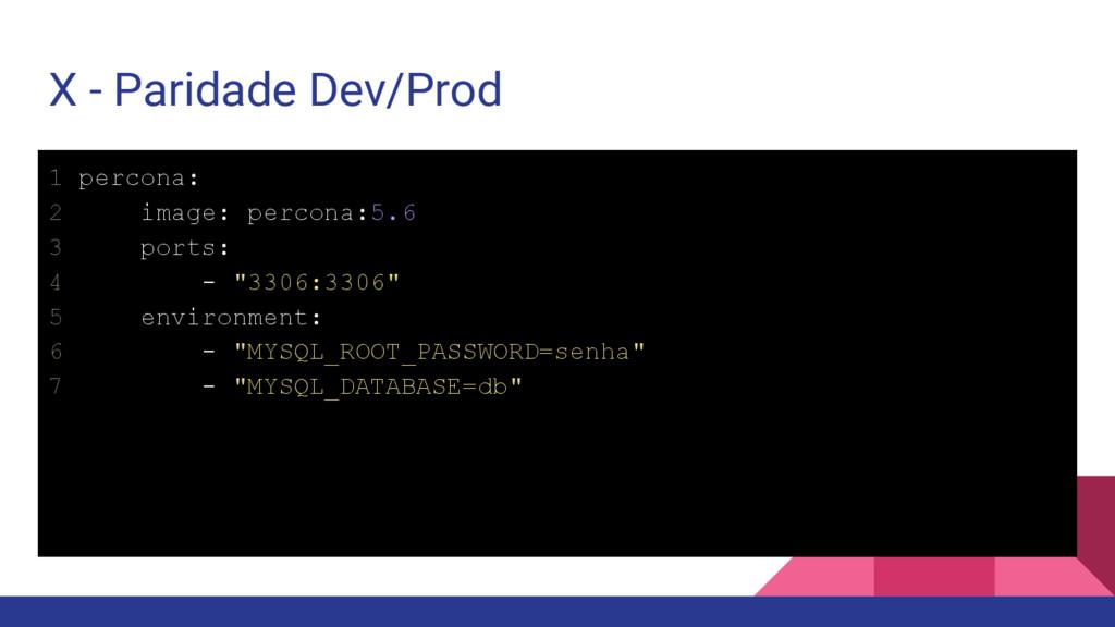 """1 percona: 2 image: percona:5.6 3 ports: 4 - """"3..."""