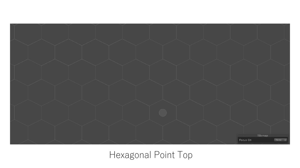 Hexagonal Point Top