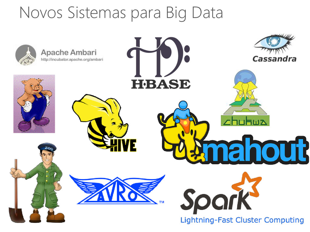 Novos Sistemas para Big Data