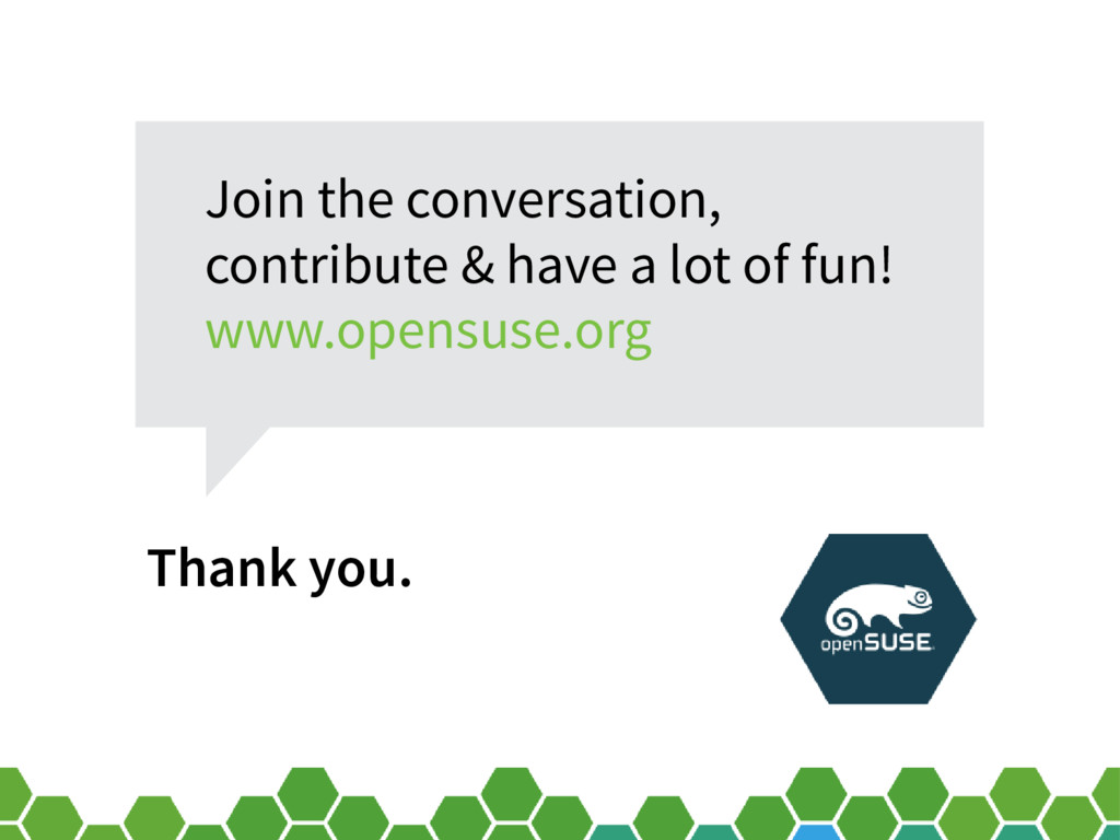 Thank you. Join the conversation, contribute & ...